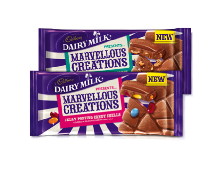 Photo: Cadbury Marvellous Creations
