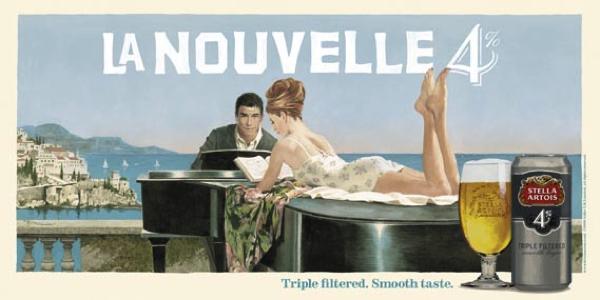 Pic.: Stella Artois, vintage poster La Nouvelle