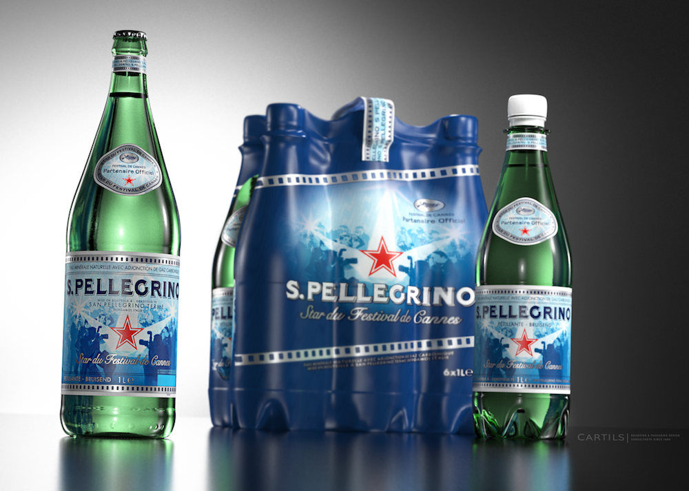 """Photo: S. Pellegrino """"Star of the Cannes Film Festival"""" limited edition"""