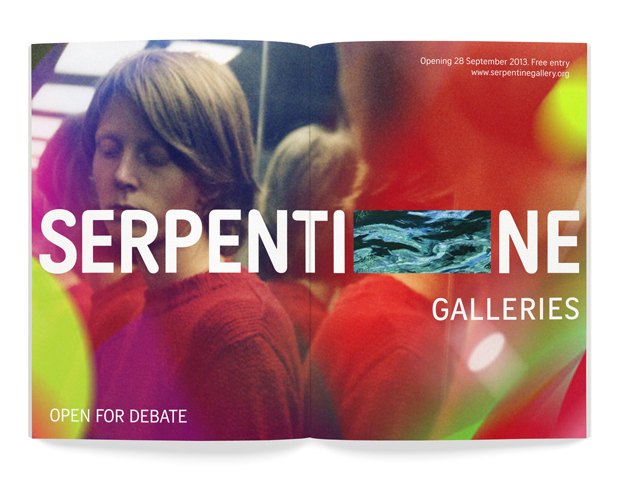 Pic. New branding for the Serpentine Galleries