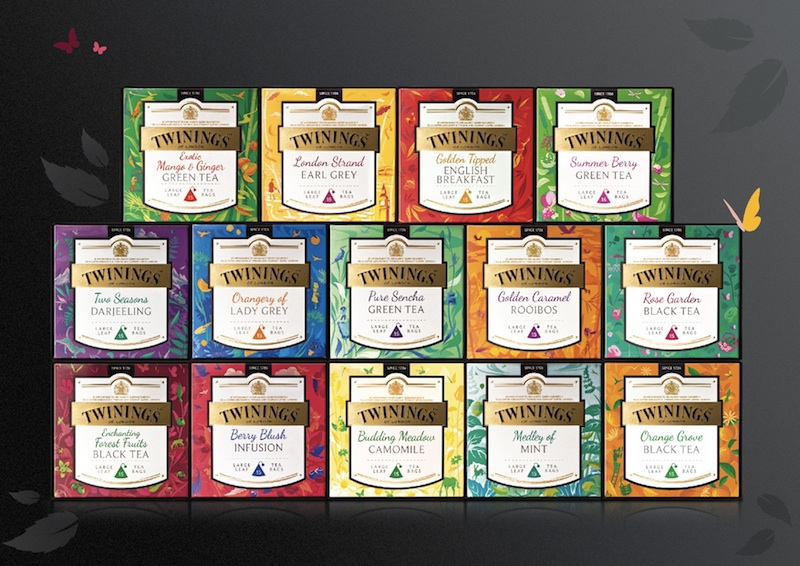 Pic.: Twinings Large-Leaf Discovery Collection for international markets