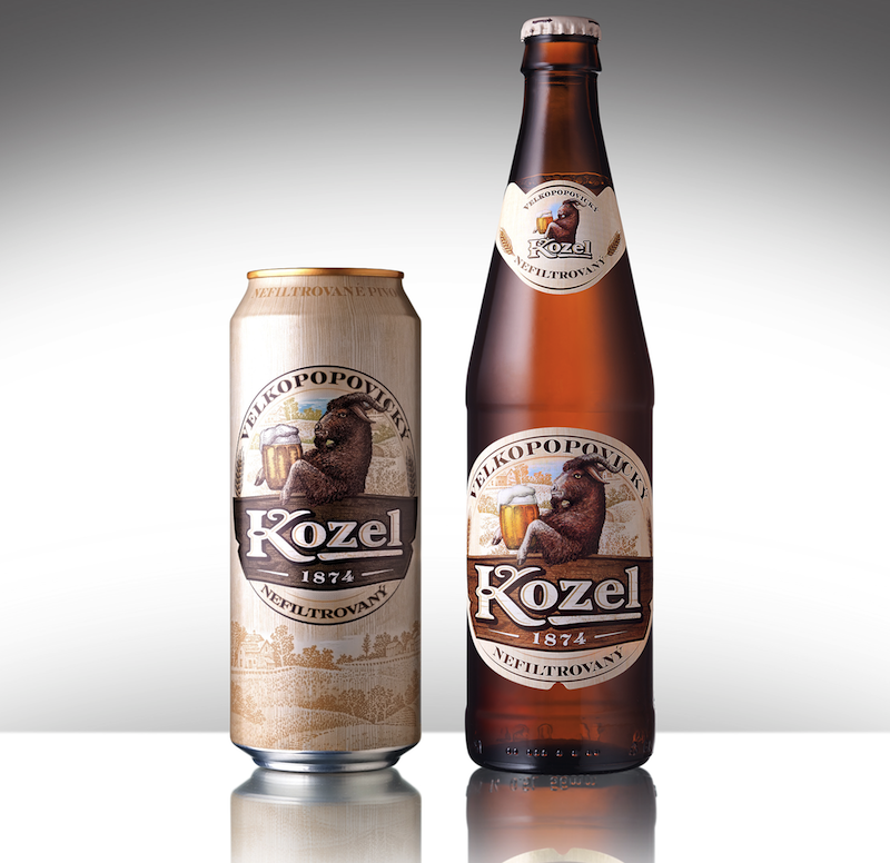 Photo: redesigned Kozel Velkopopovecky