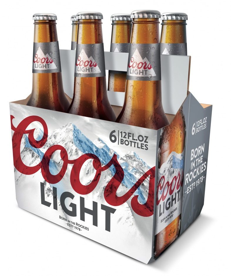 Pic.: new Coors Light bottle