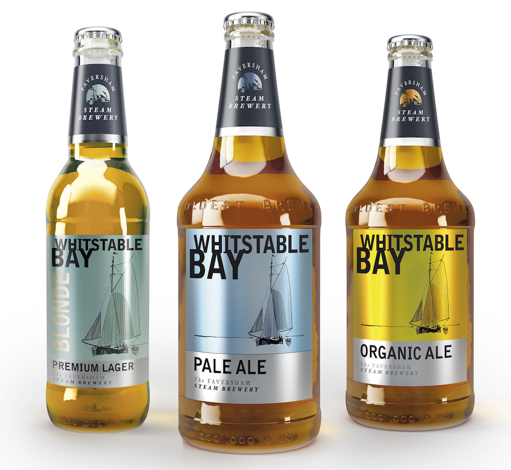 Photo: Shepherd Neame's Whitstable Bay beer range