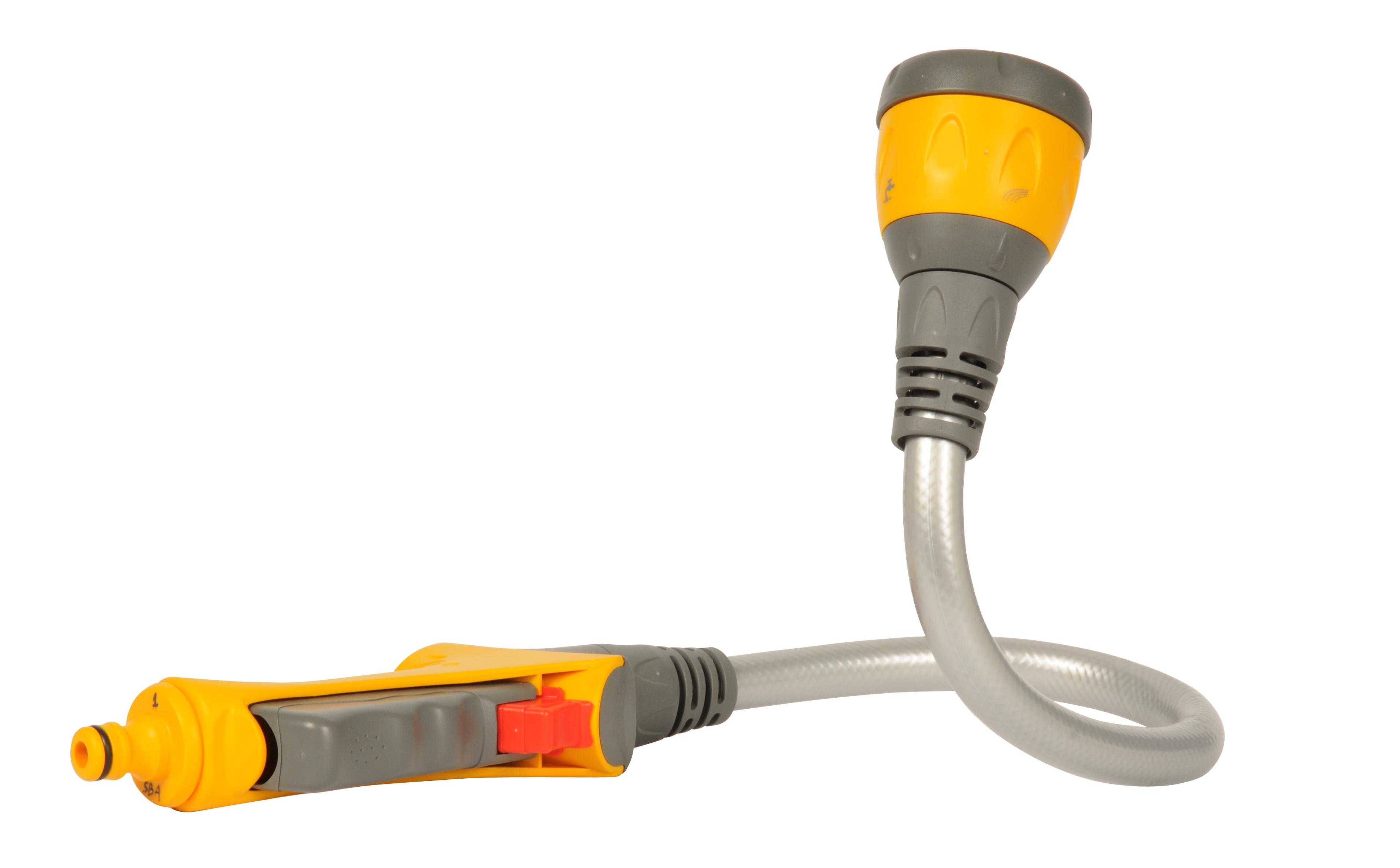 Photo: Hozelock's gardening device Flexi Spray, designed by Seymourpowell