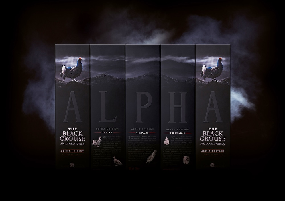 Photo: New look for The Black Grouse, Alpha edition