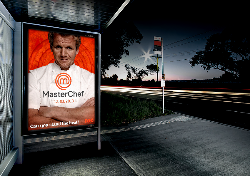 Photo: MasterChef's billboard