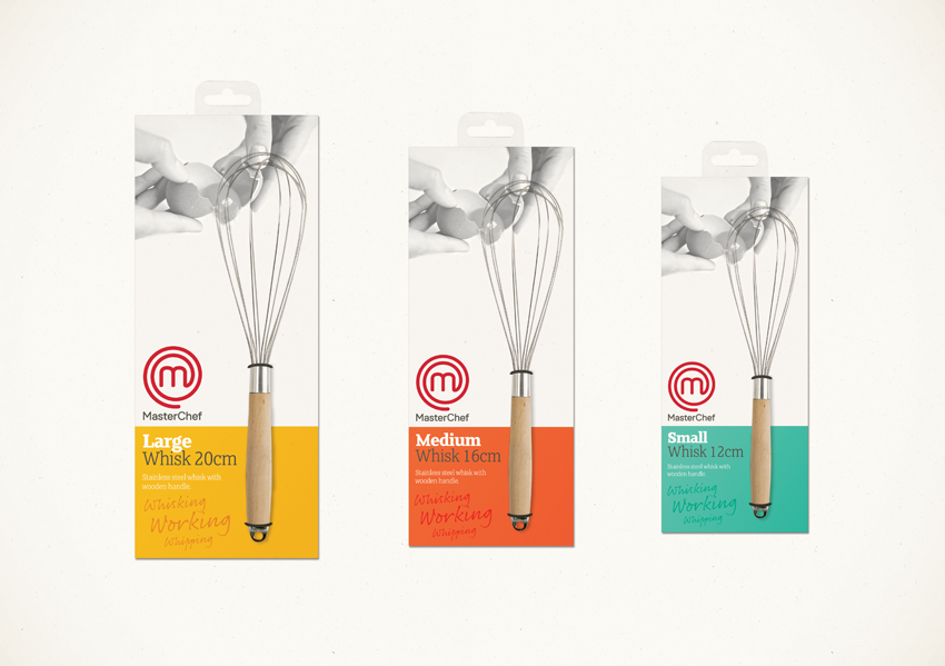 Photo: MasterChef's kitchenware packaging