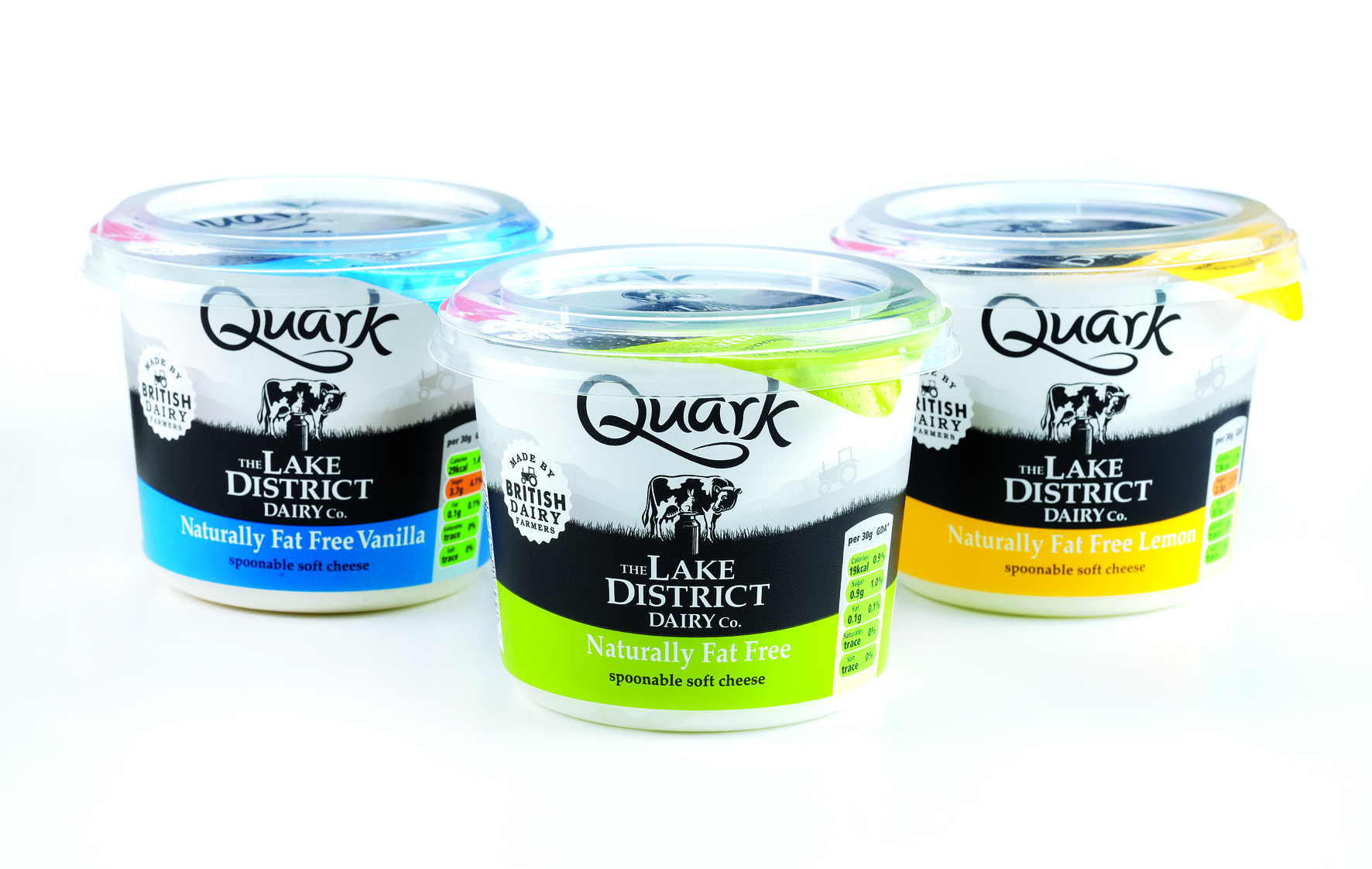 Photo: Lake District Dairy Co. Quark, designed by Parker Williams