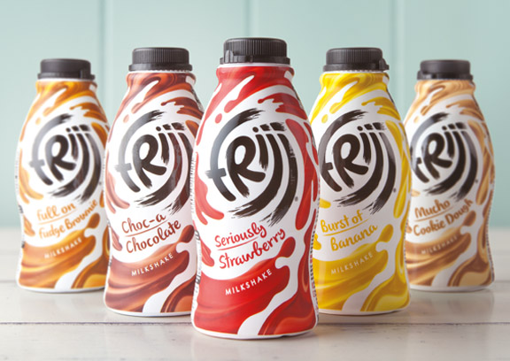 Pic.: new Frijj packaging