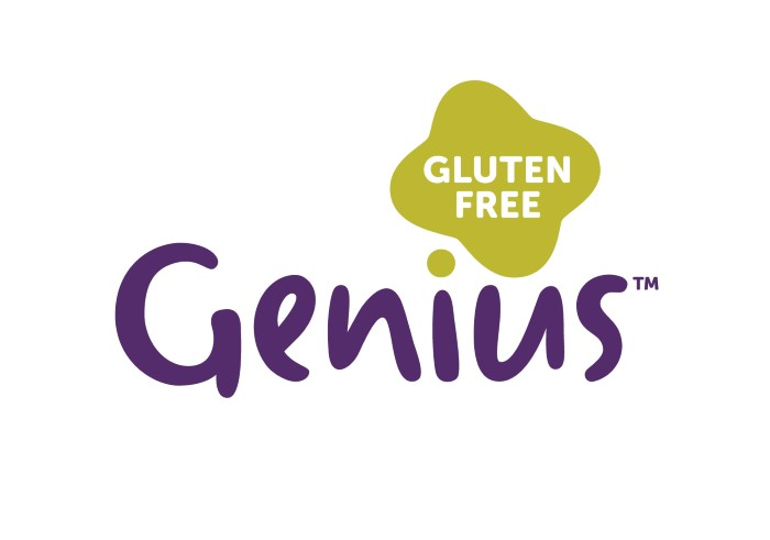 Photo: brand identity for Genius, the UK's leading gluten-free brand