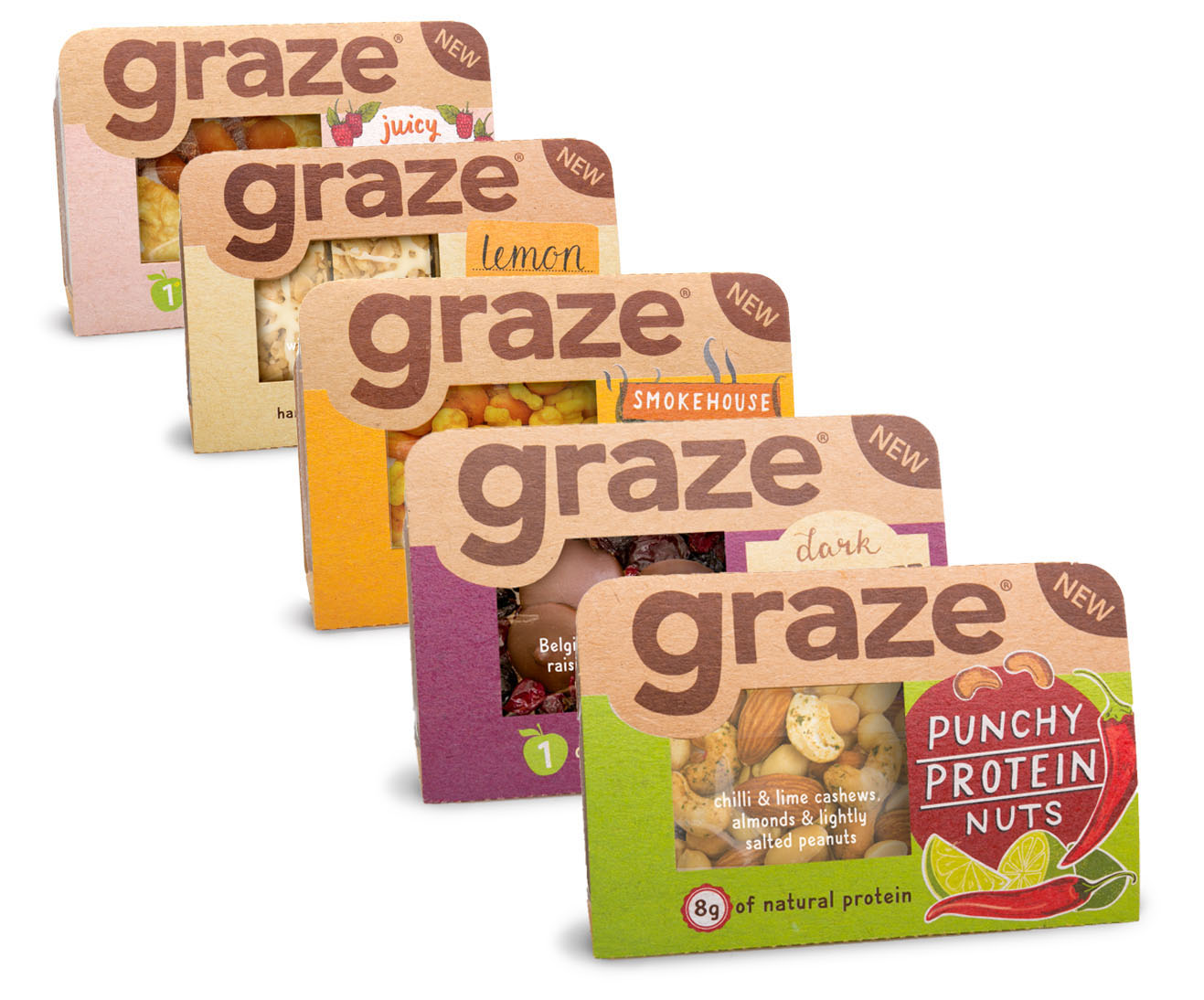 Photo: Graze snack for the retail channel