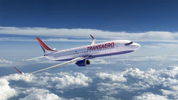 Pic.: new identity for Transaero Airlines