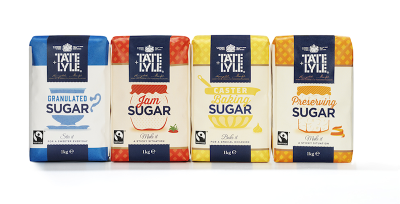 Photo:  Tate & Lyle's sugar range