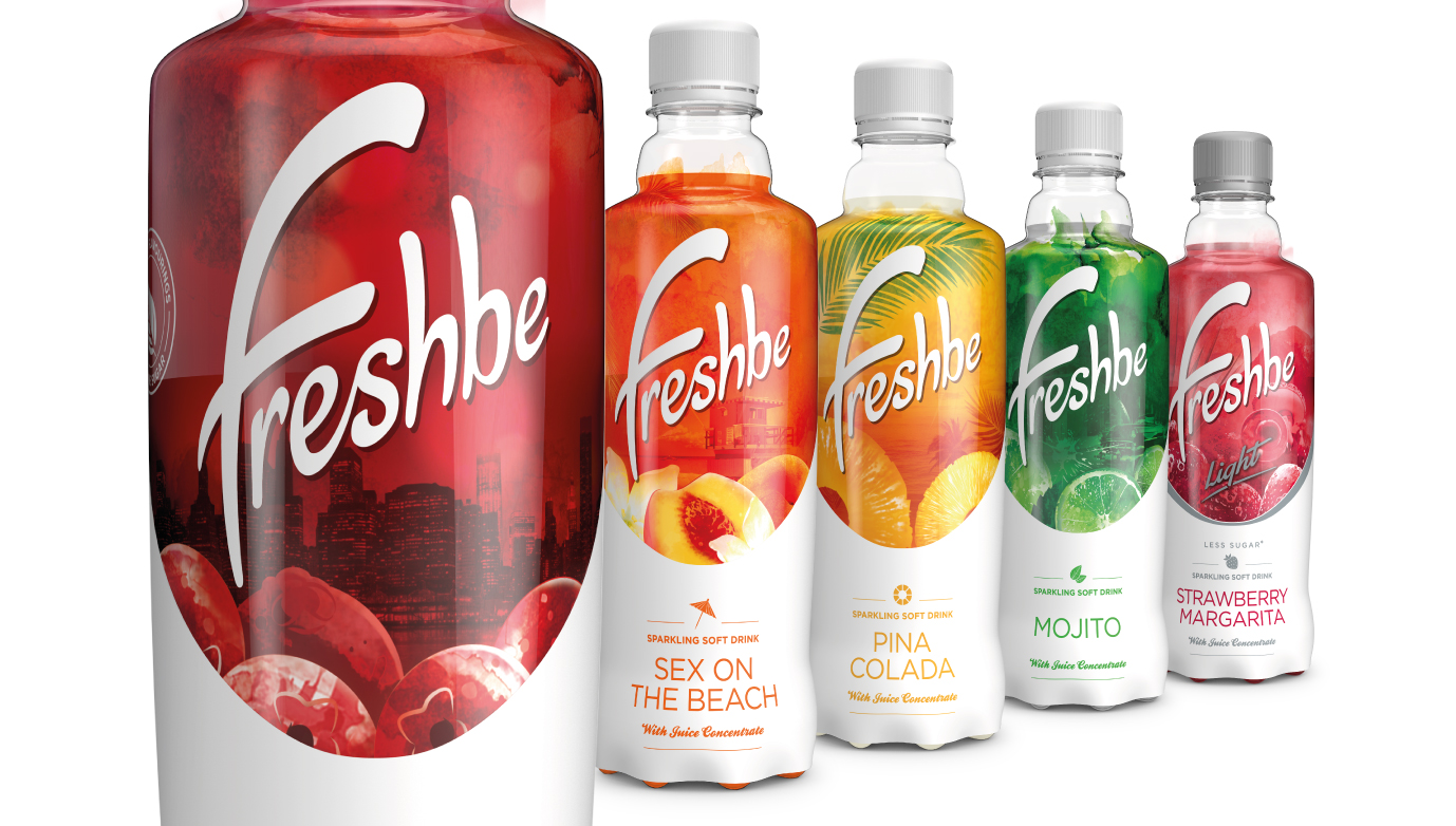 Pic.: Freshbe carbonated drinks range
