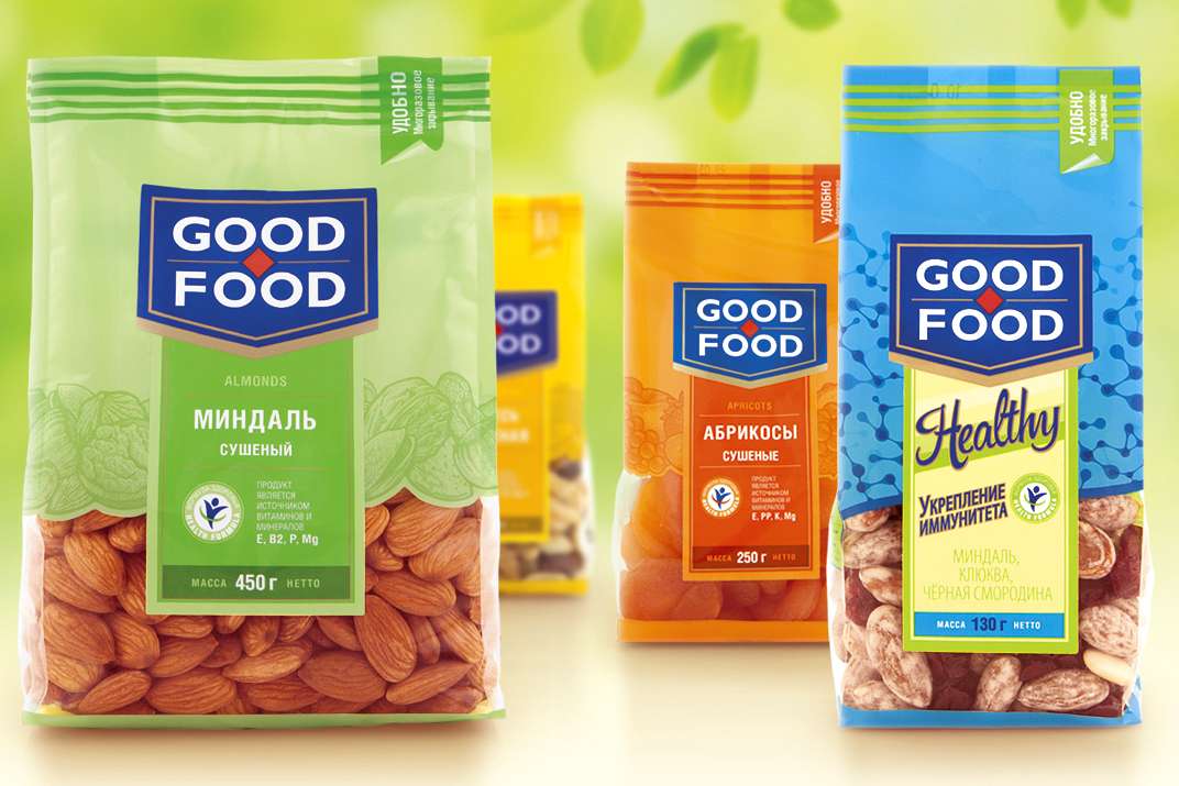 Photo: Good Food's refreshed packaging