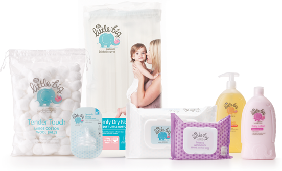 Photo: New Morrison's private-label baby range Little Big, designed by Elmwood