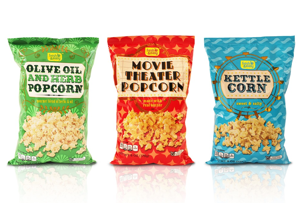 Photo: Waitrose Popcorn range