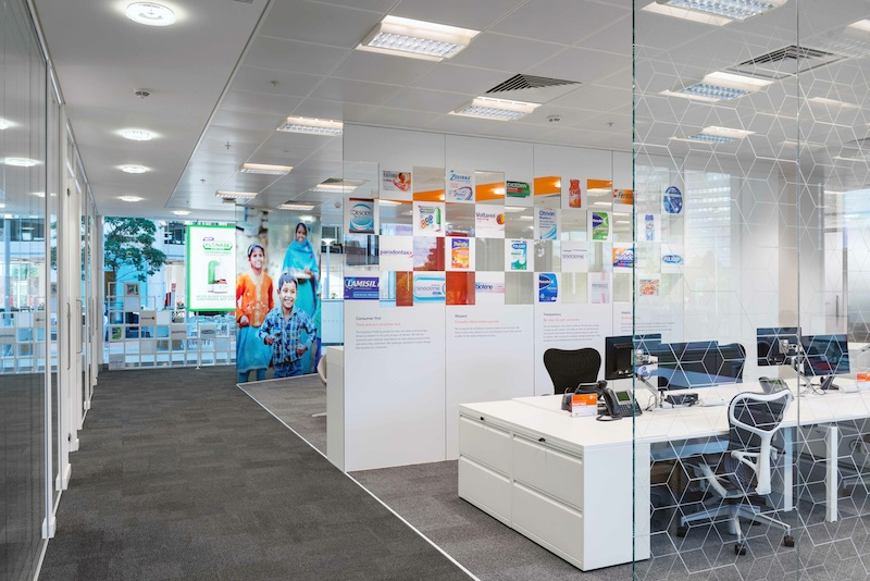 Photo: GSK-Novartis new joint venture's Consumer Healthcare office. Photography by French+Tye