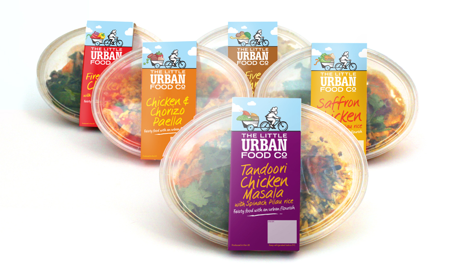 Photo: Kerry Food's new brand - Urban Food Company