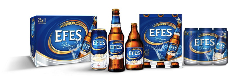 Pic.: redesign for Efes Pilsen