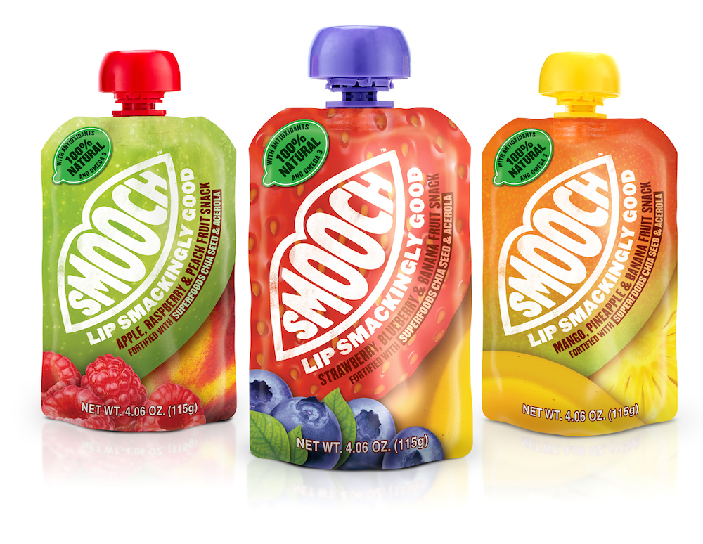 Photo: Smooch packaging, designed by Biles Inc.