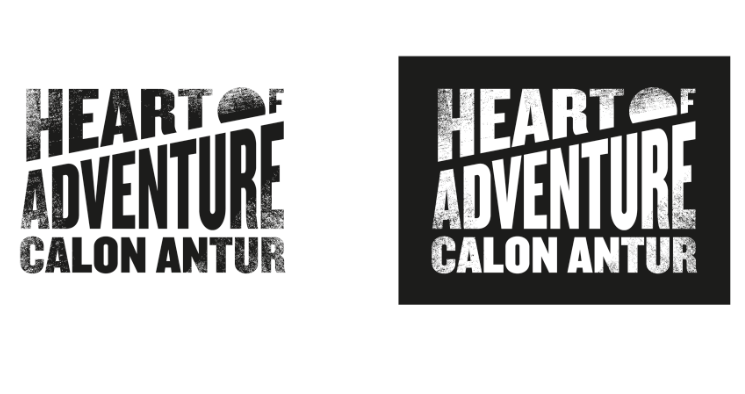 Photo: 'Heart of Adventure' brand identity