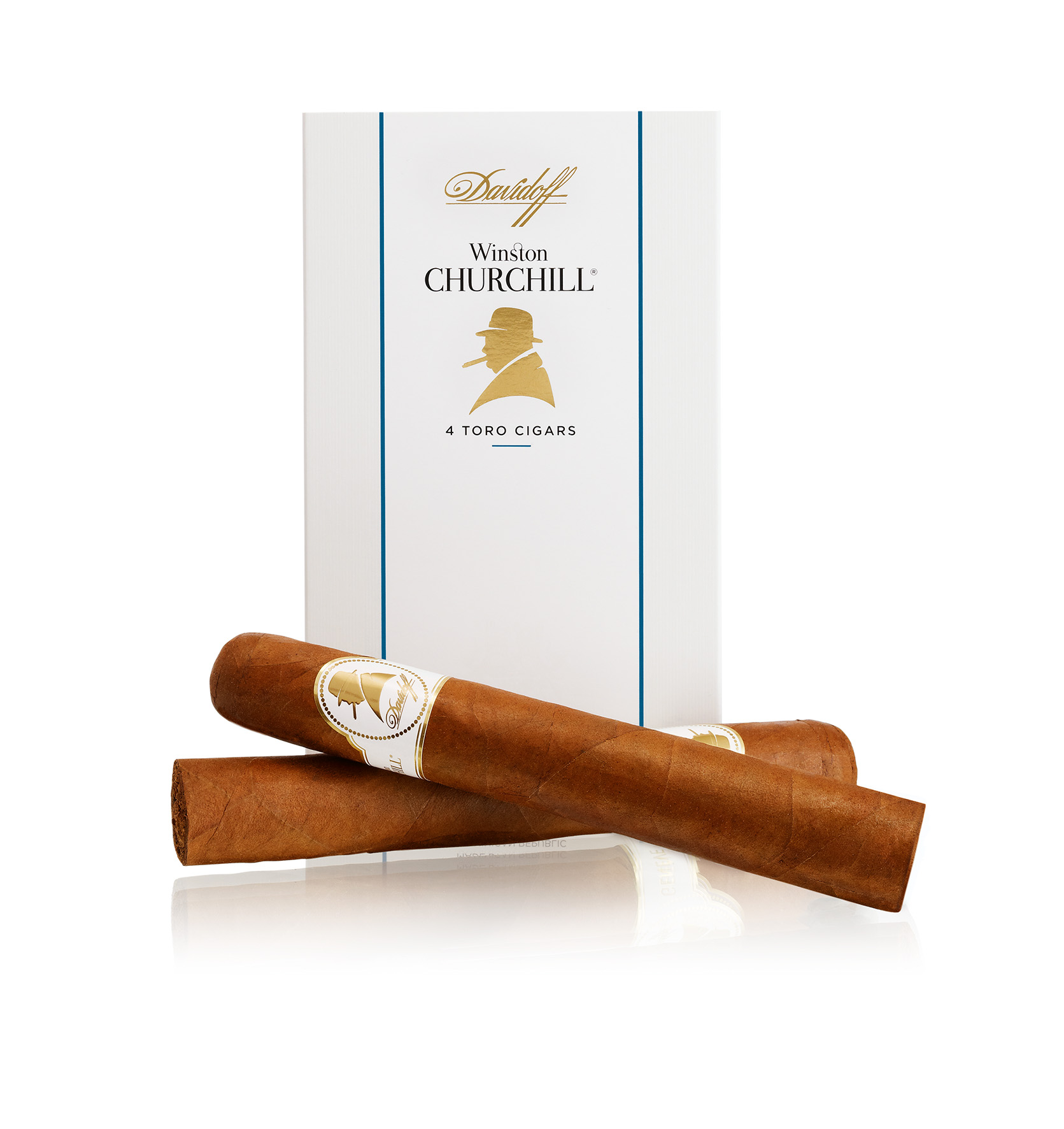 Photo: Davidoff's Winston Churchill Cigars redesign, 2015