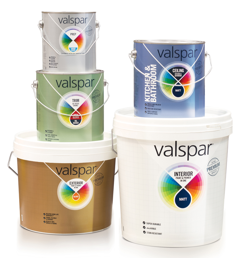 Pic.: Valspar Paints, new design