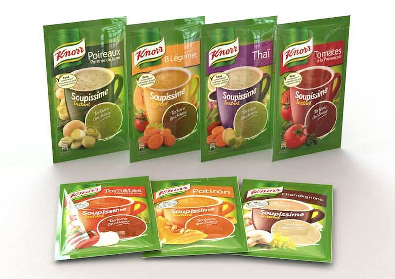 Photo: Knorr Instant Soups for the French market