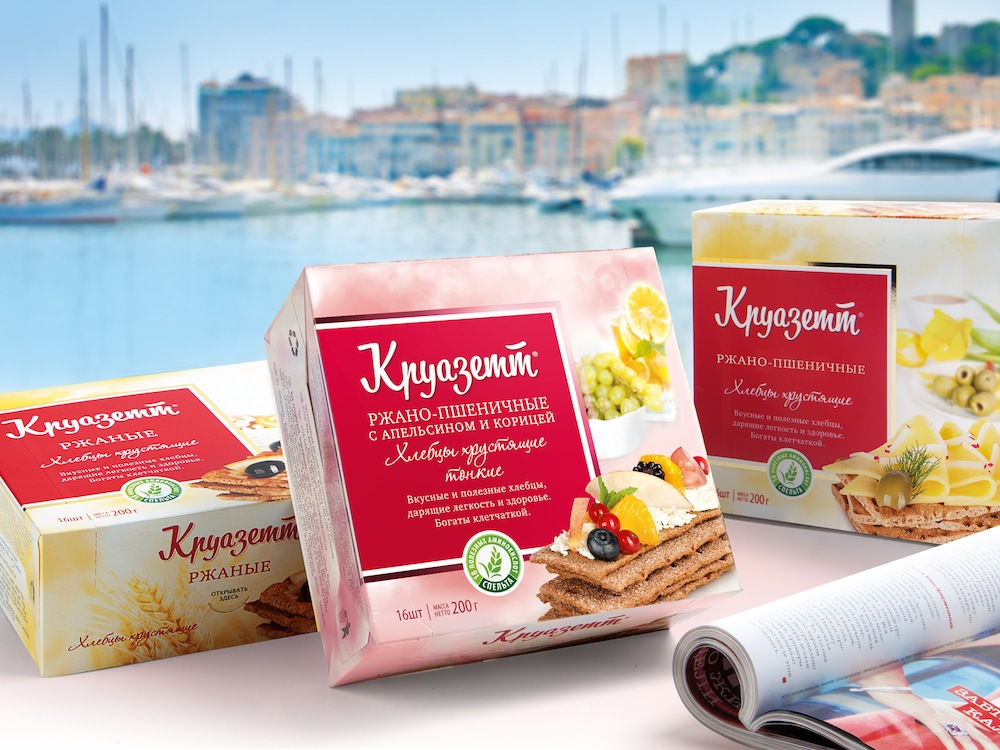 Pic.: Kruazett, new package design