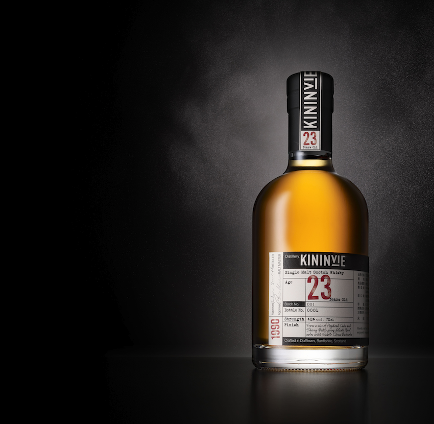Pic.: packaging redesign for Kininvie whisky