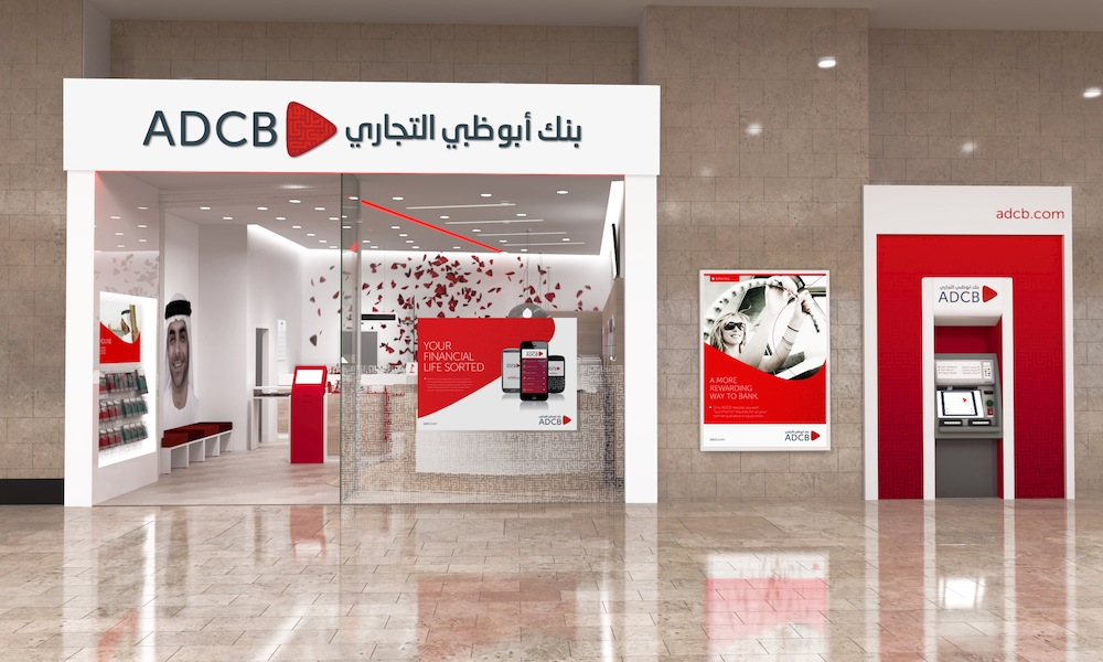 Pic.: New identity and retail design for ADCB bank in Abu Dabi