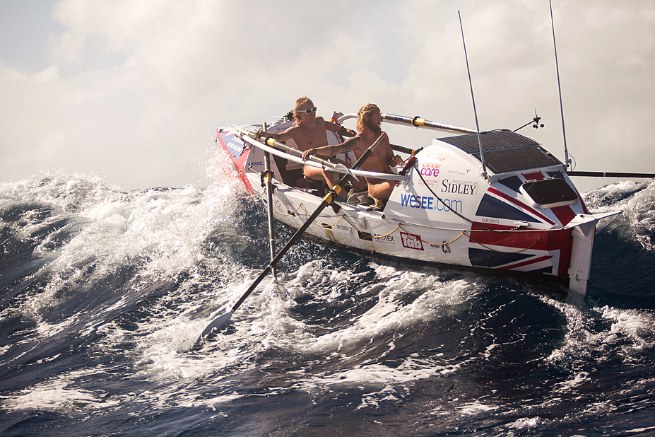 2 Boys In A Boat.  Talisker Atlantic Whiskey Challenge.  Antigua.