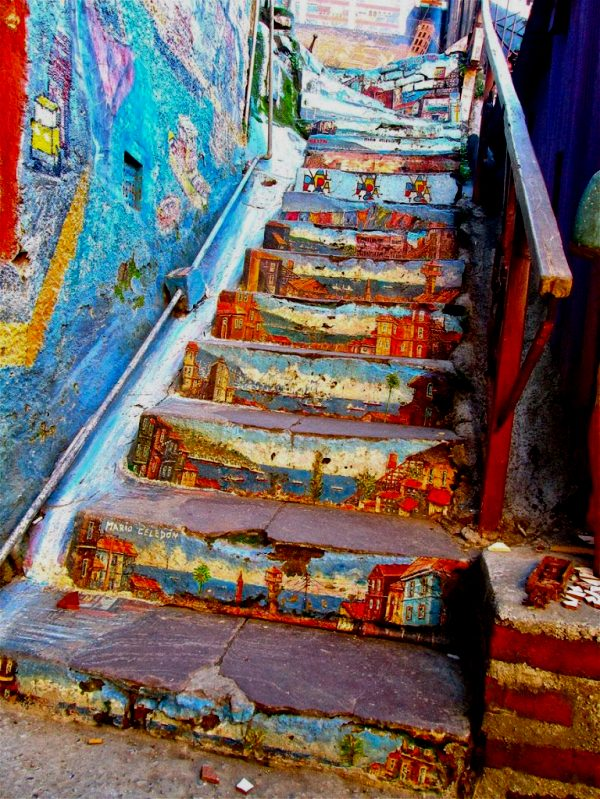 Valpariso stairs