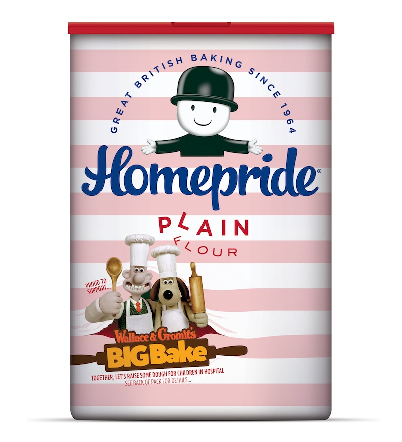 Pic.: new design for Homepride Flour