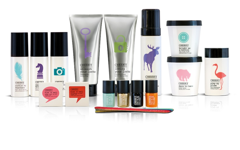 Pic.: Cheeky, a new beauty brand from founders of Cowshed