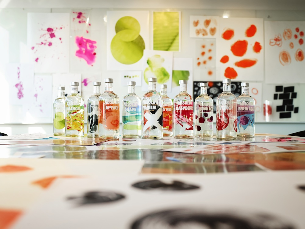 Photo: ABSOLUT VODKA's redesigned flavoured range