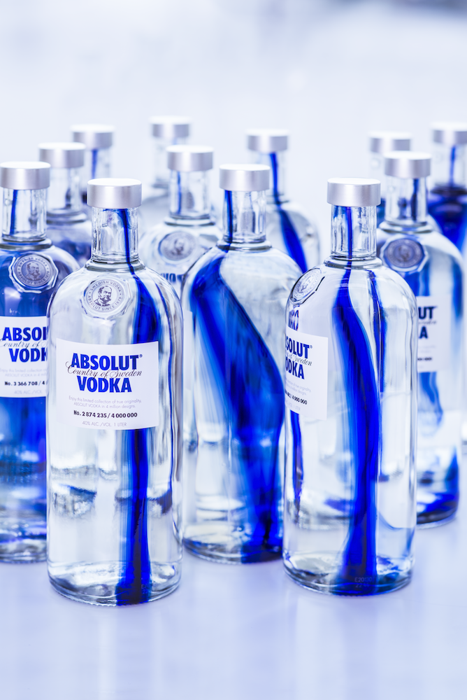 Photo: ABSOLUT Originality bottles