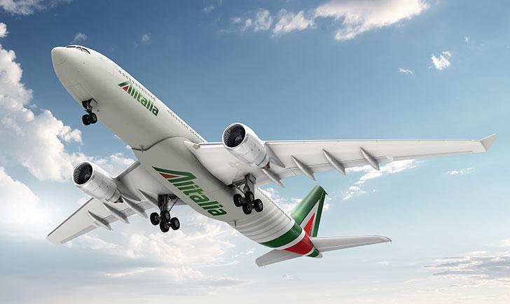 Pic. New visual identity for Alitalia