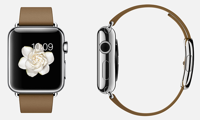 Photo: preview of a smart watch from Apple—Apple Watch. Photo credit: Apple Insider