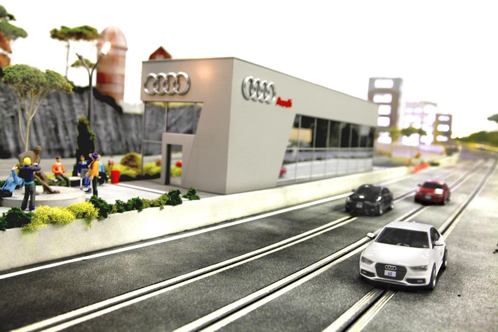 Audi Has Held Innovative IPadControlled Mini TestDrive In Canada - Audi test drive