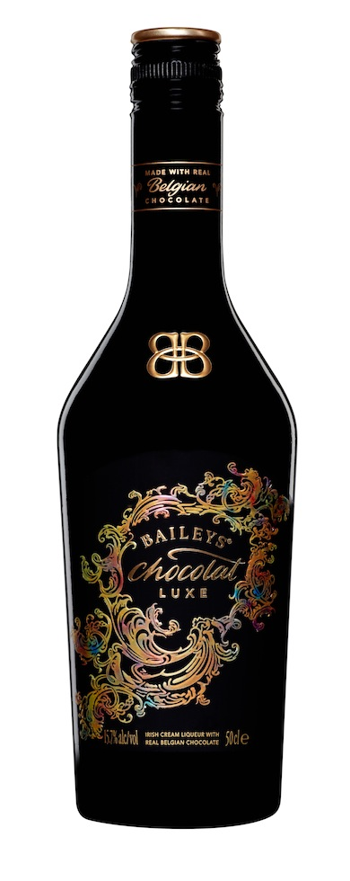 Photo: Bottle of Baileys Chocolat Luxe liquor
