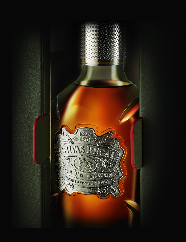 Photo: Chivas Regal The Icon, new bottle, 2015