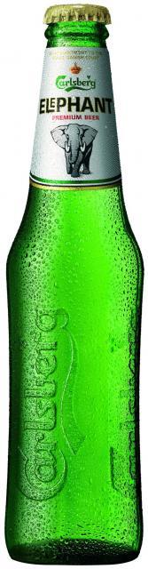 Carlsberg Embossment Bottle Label