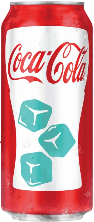 Photo: Coke cold-activated can