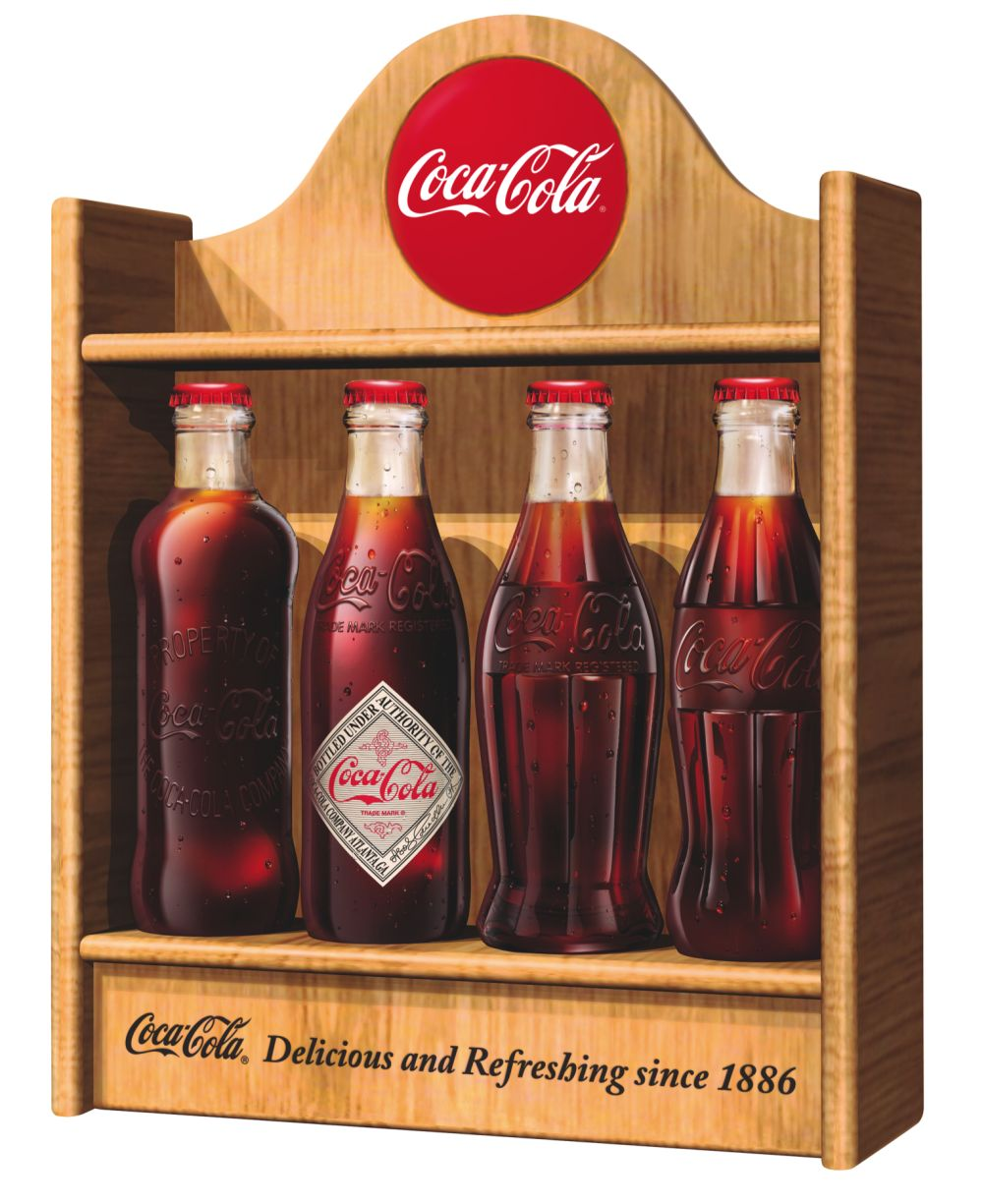 coca cola uk celebrates the 125th anniversary with a limited edition heritage classic. Black Bedroom Furniture Sets. Home Design Ideas