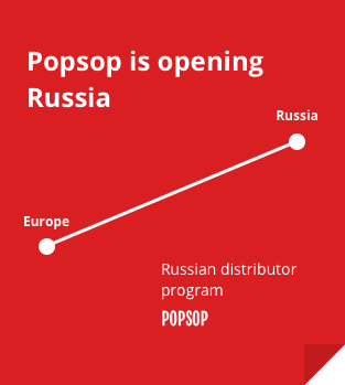 Popsop is opening Russia