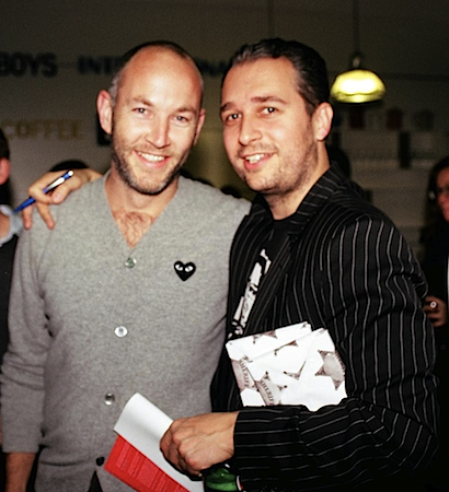 Photo: Daniele Fiandaca and Mark Chalmers, the founders of Creative Social