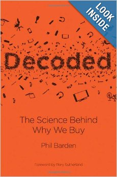 Photo: Decoded by Phil Barden, the cover